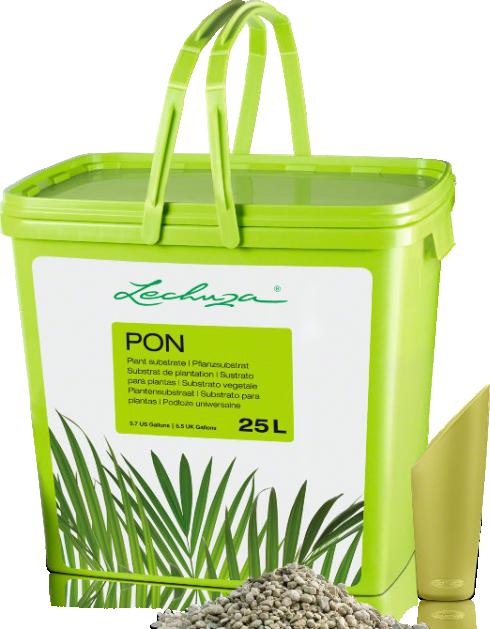 LECHUZA PON Granulat für bestes Pflanzenwachstum